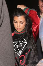 KOURTNEY KARDASHIAN at Catch LA in West Hollywood 10/13/2016