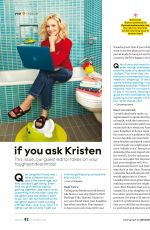 KRISTEN BELL in Parents Magazine, November 2016