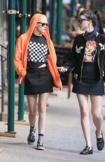 KRISTEN STEWART and ST VINCENT Out in New York 10/05/2016