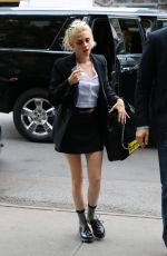 KRISTEN STEWART Arrives at Her Hotel in New York 10/04/2016
