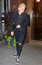 KRISTEN STEWART Out in new York 10/14/2016