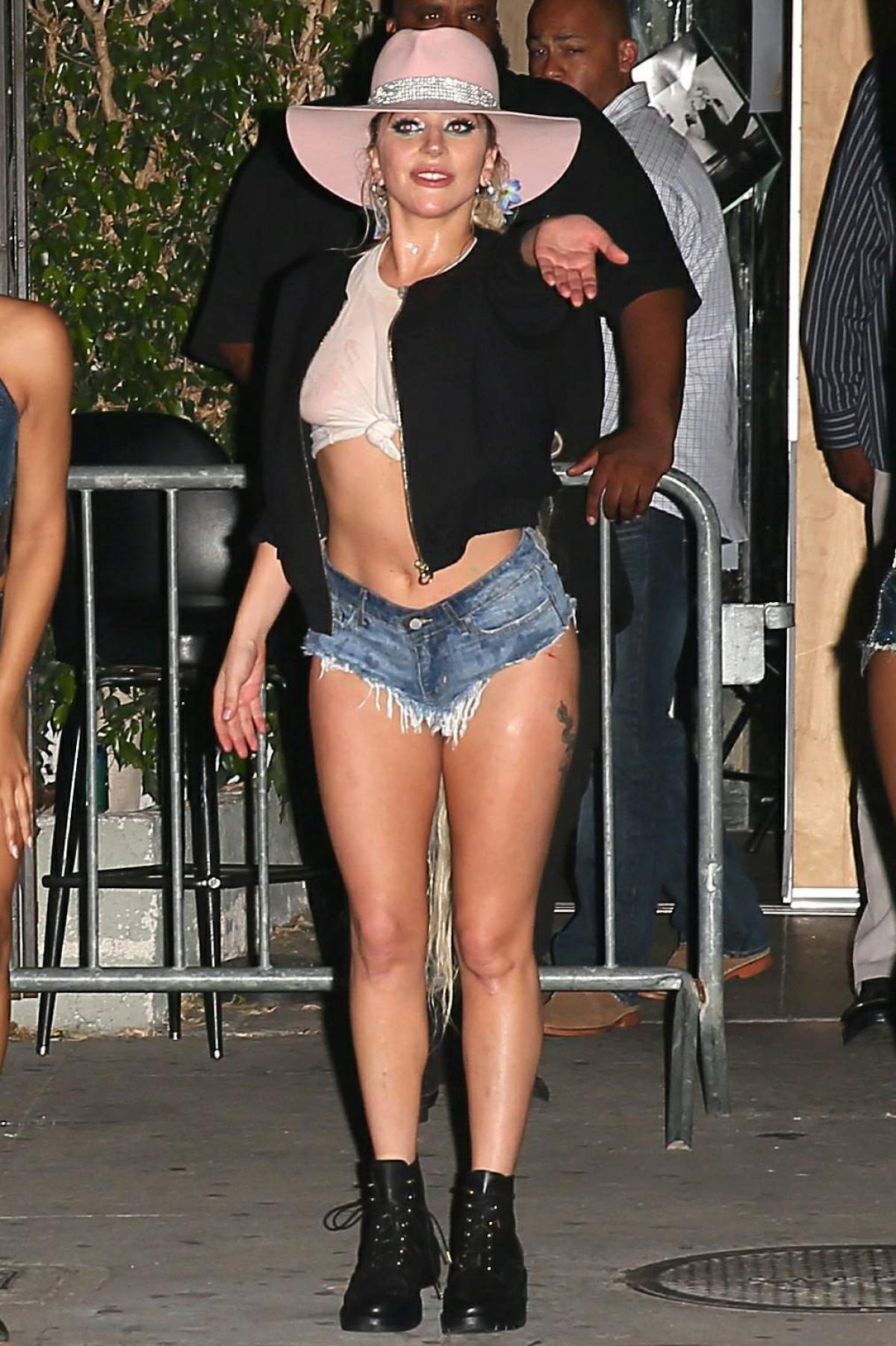 LADY GAGA Night Out in Silver Lake 10/27/2016
