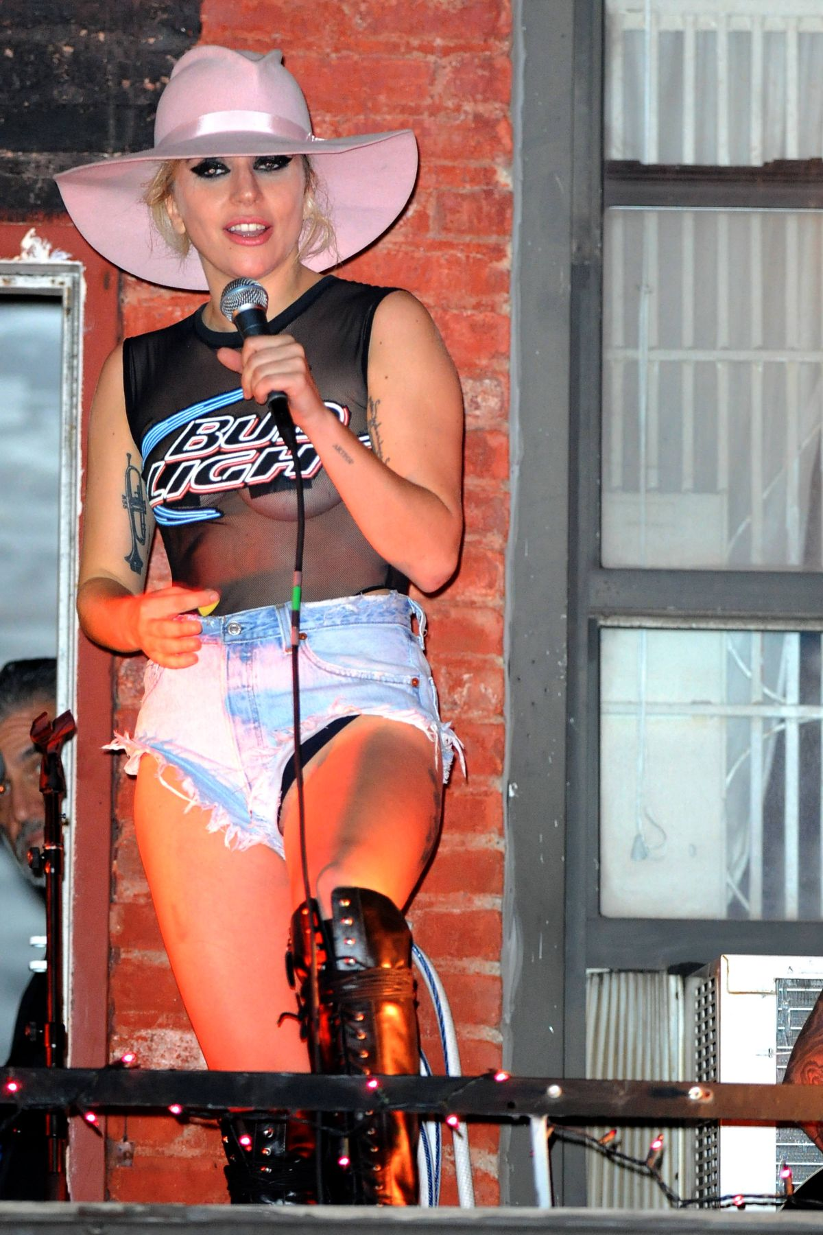 LADY GAGA Performs Live at The Bitter End in New York 10/20/2016