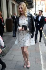 LAURA CARMICHAEL at Her Hotel in London 10/05/2016