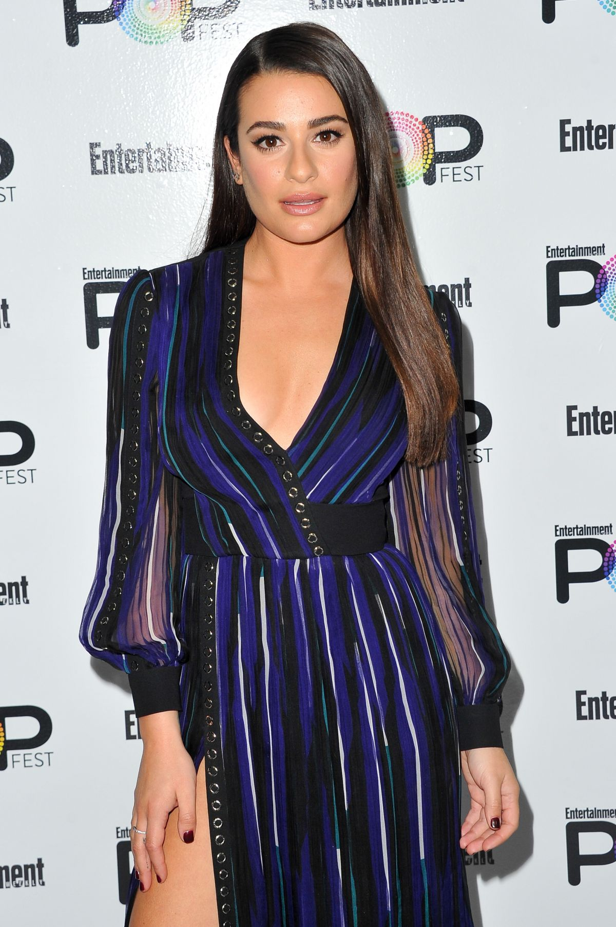 LEA MICHELE at Entertainment Weekly Popfest in Los Angeles 10/29/2016