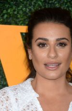LEA MICHELE at Veuve Clicquot Polo Classic in Los Angeles 10/15/2016