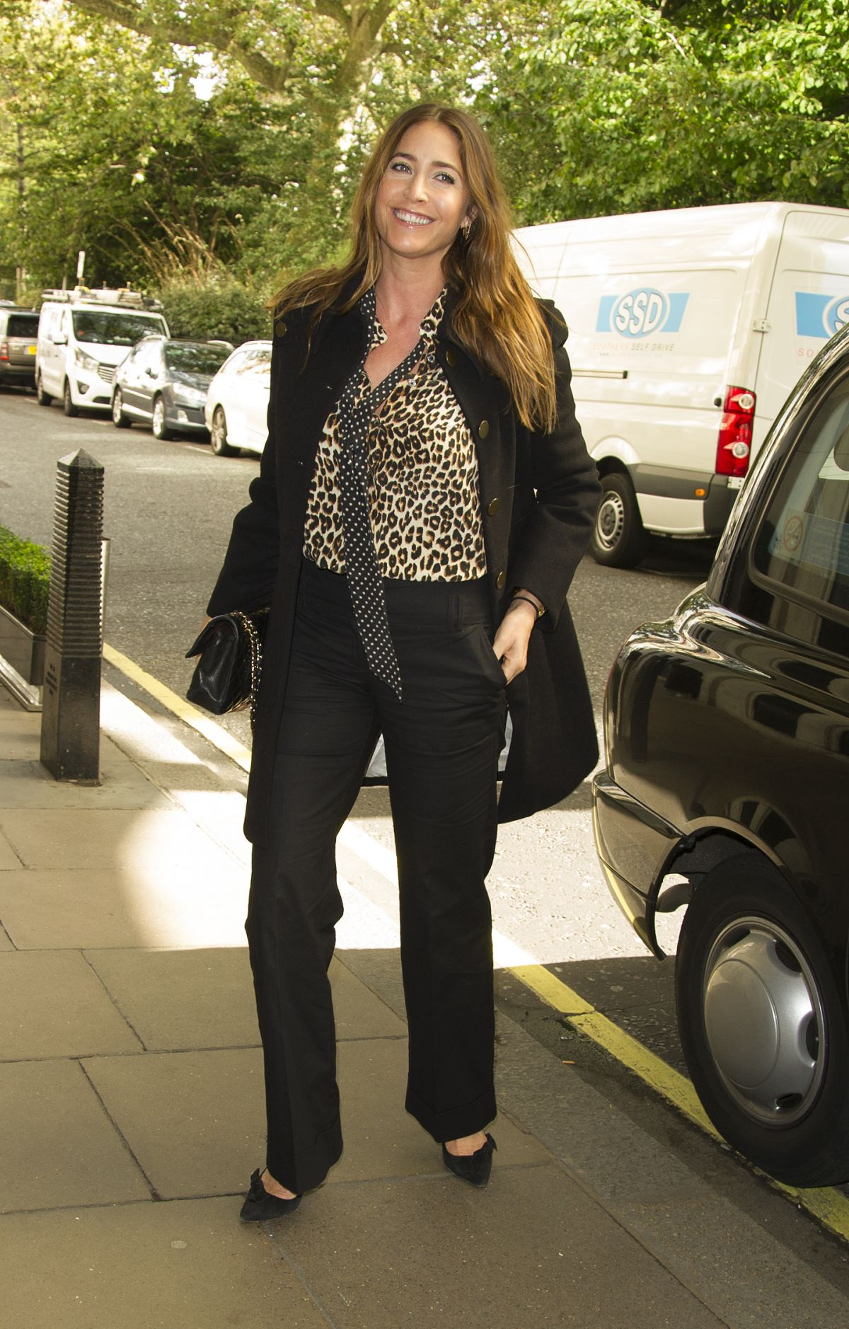 LISA SNOWDON Arrives at Savoy Hotel in London 10/10/2016