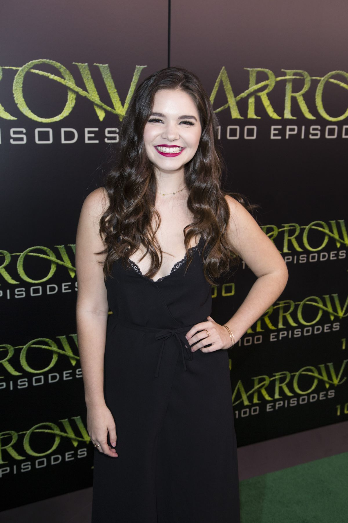 madison mclaughlin red dress