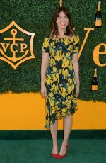 MANDY MOORE at Veuve Clicquot Polo Classic in Los Angeles 10/15/2016