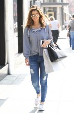 MARIA MENOUNOS Out Shopping in Beverly Hills 10/14/2016