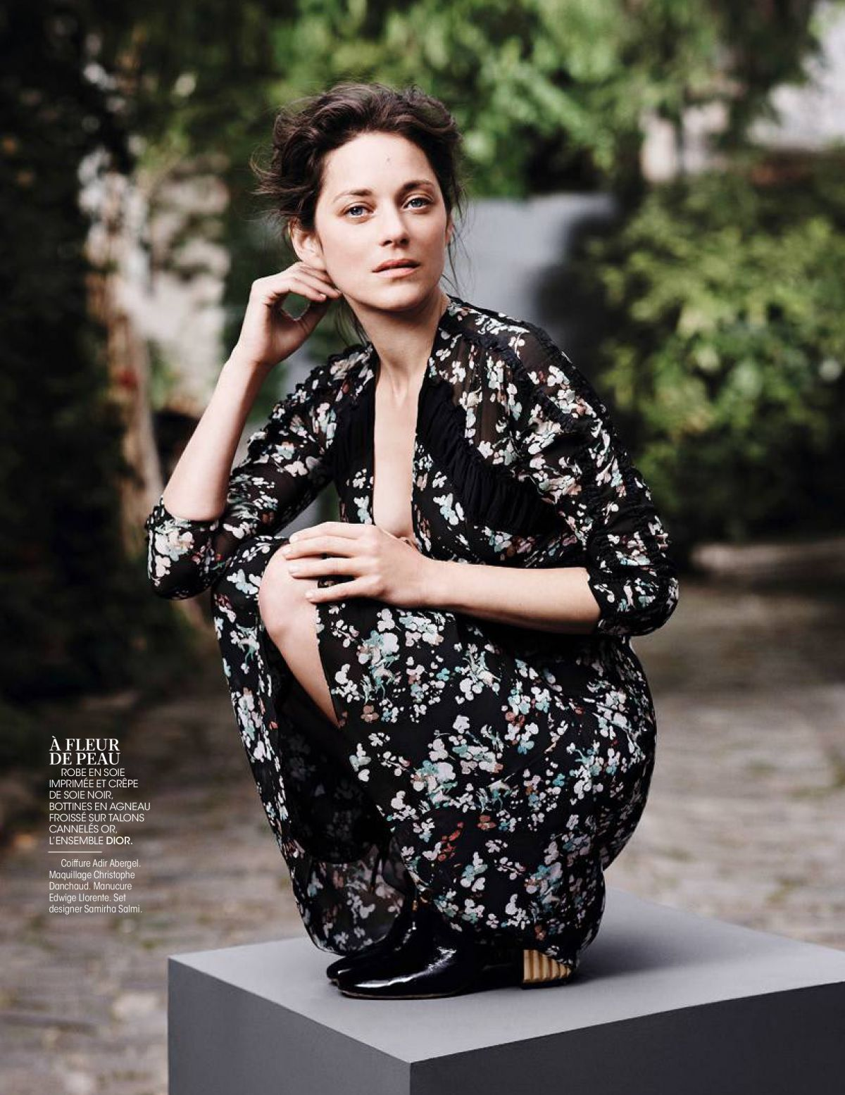 MARION COTILLARD in Madame Figaro Magazine, France September 2016 ...