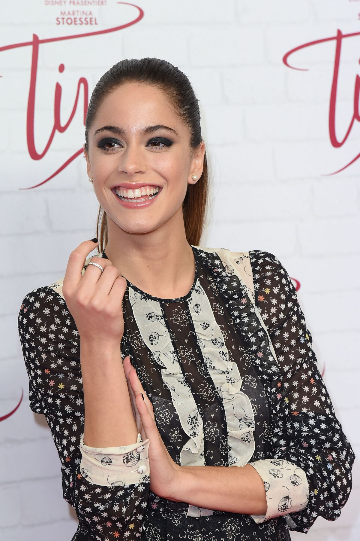 MARTINA STOESSEL at Tini: The Movie Photocall at Cafe Moskau in Berlin 10/16/2016
