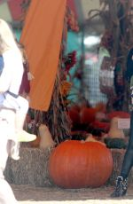 MEGAN FOX at a Pumpkin Patch in Malibu 10/15/2016