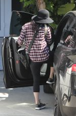 MEGAN FOX Leaves a Hair Salon in Beverly Hills 09/29/2016