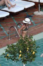 MEGHAN MARKLE in Bikini at a Pool in Positano 08/18/2016
