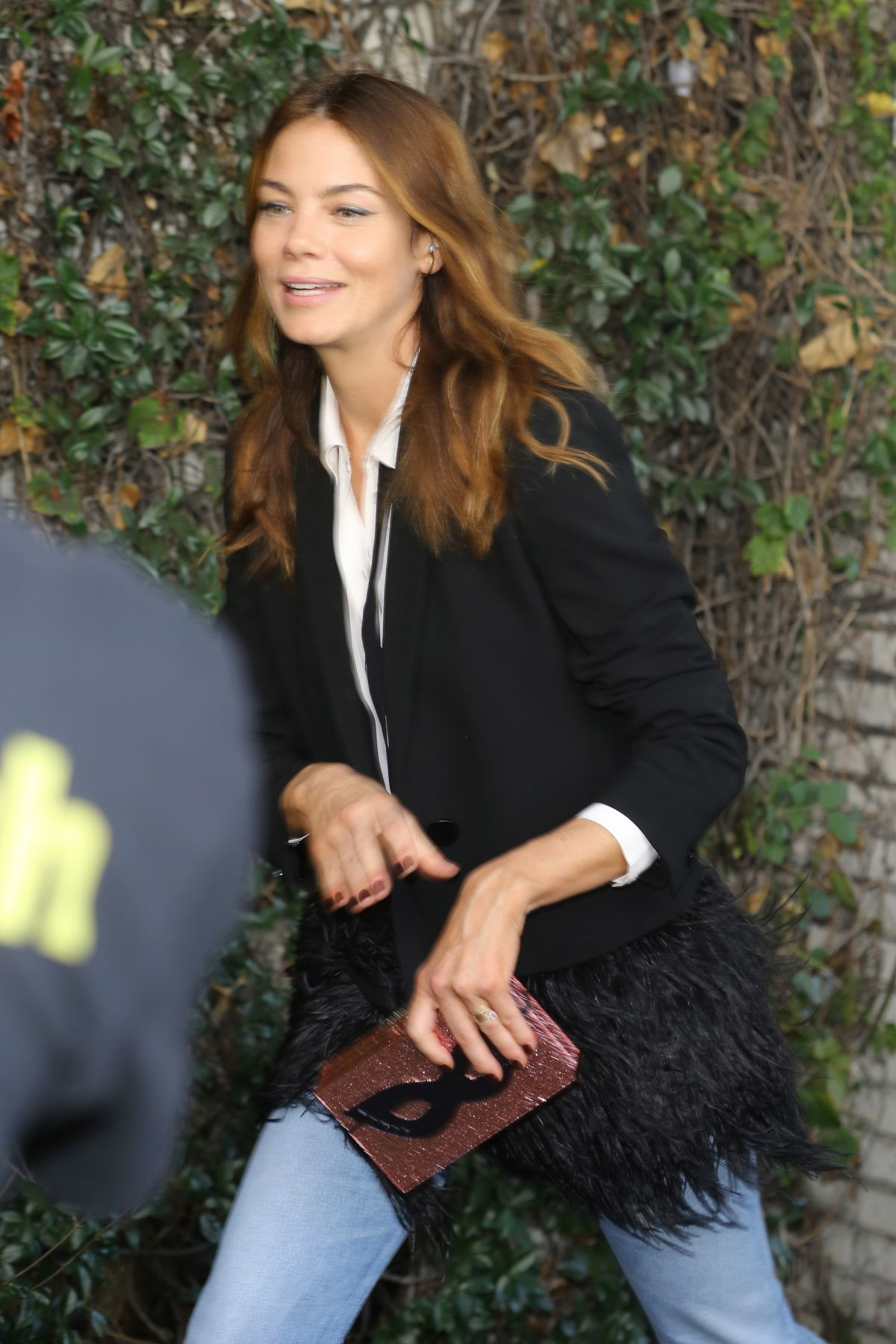 MICHELLE MONAGHAN Leaves Chateau Marmont in Los Angeles 10/26/2016