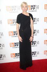 MICHELLE WILLIAMS at 'Certain Women' Premiere at 54th New York Film Festival 10/03/2016