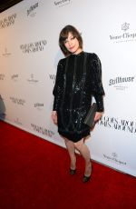 MILLA JOVOVICH at What Goes Around Comes Around Beverly Hills Opening 10/13/2016