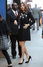 MINNIE DRIVER Arrives at Good Morning America in New York 10/12/2016