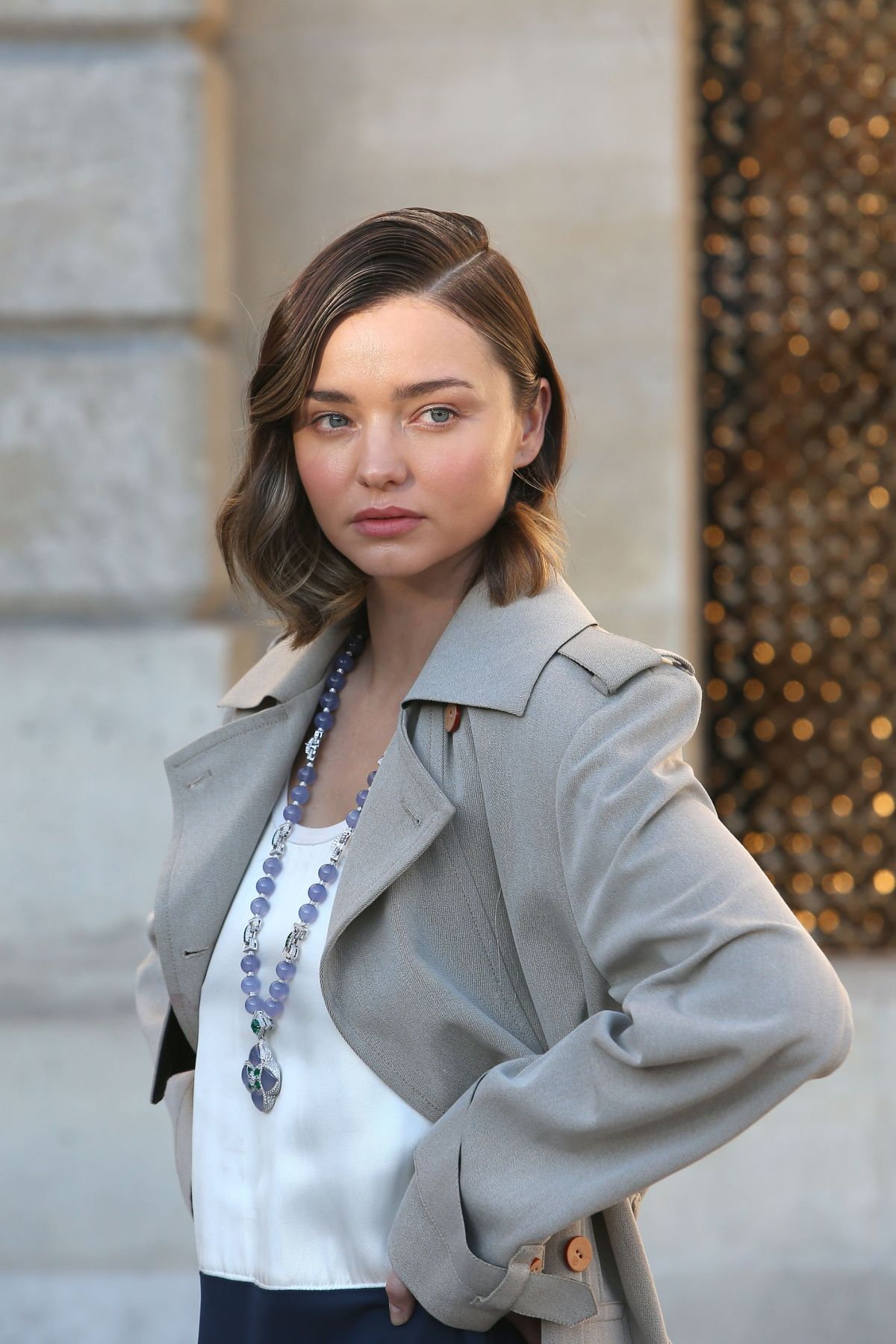 MIRANDA KERR on the Set of a Louis Vuitton Photoshoot in Paris 10/04 ... Miranda Kerr