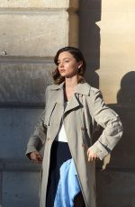 MIRANDA KERR on the Set of a Louis Vuitton Photoshoot in Paris 10/04/2016