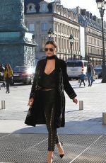 MIRANDA KERR Out and About in Paris 10/04/2016