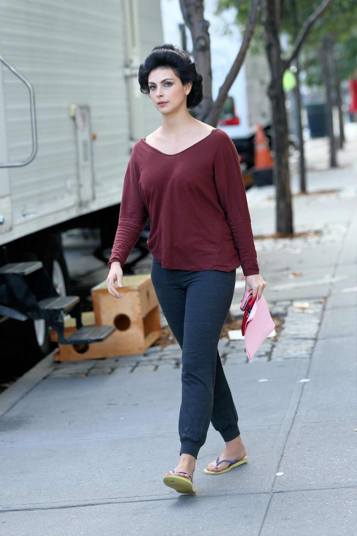 MORENA BACCARIN Out and About in New York 10/19/2016
