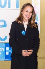 NATALIE PORTMAN at Voter Registration Events at Hillary Clinton