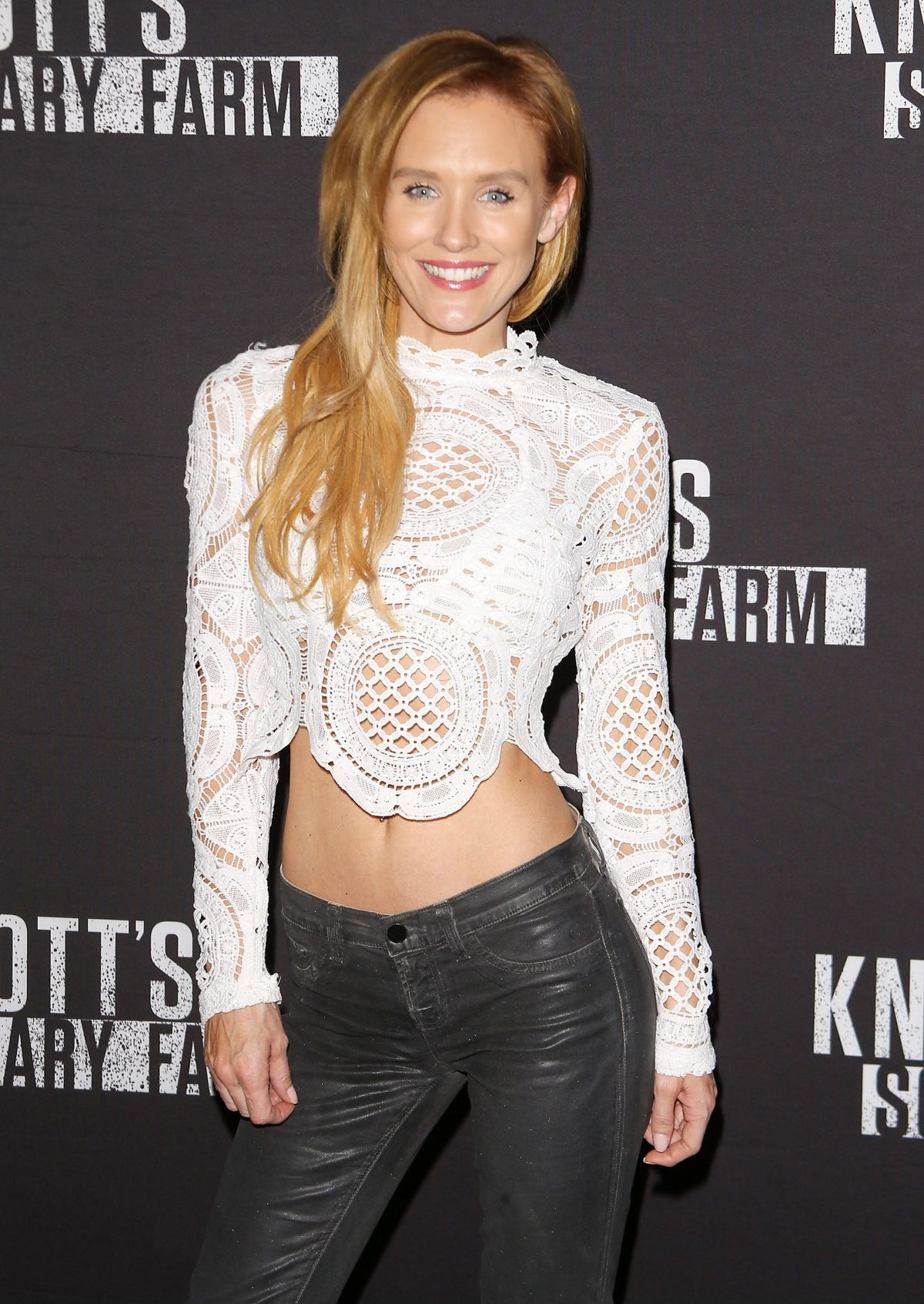 NICKY WHELAN at Knott's Scary Farm Opening Night in Buena Patk 09/30/2016