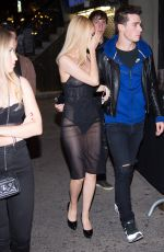 NICOLA PELTZ Arrives at the Up&Down Nightclub in 10/09/2016
