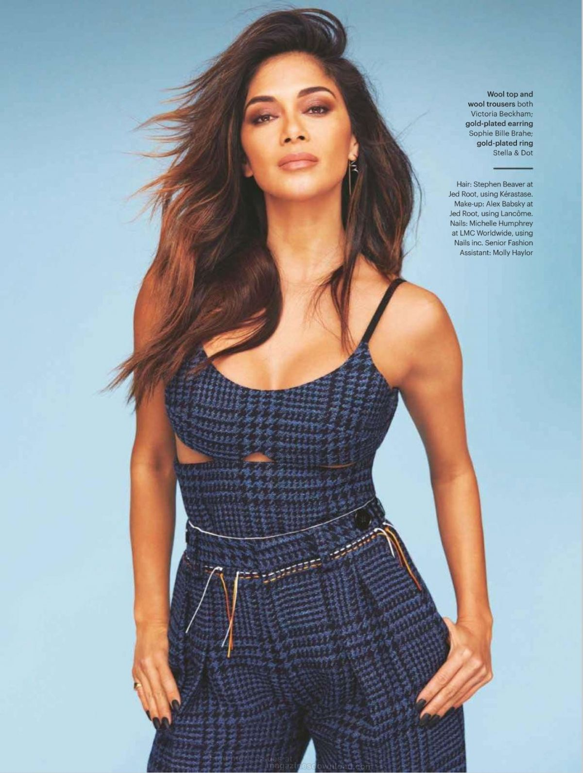 NICOLE SCHERZINGER in Glamour Magazine, UK November 2016 - HawtCelebs ...