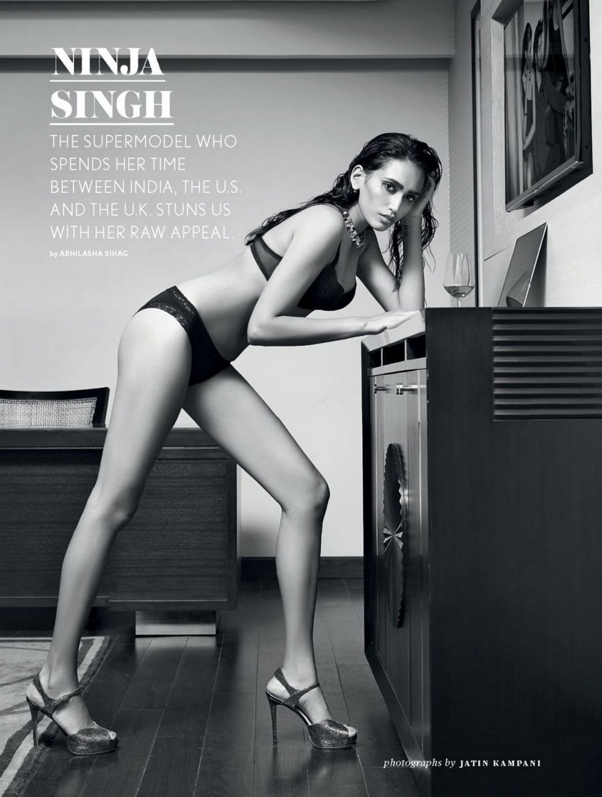 NINJA SINGH in Maxim Magazine, India October 2016 Issue