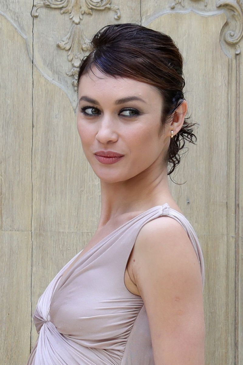 OLGA KURYLENKO at Valentino Fashion Show at Paris Fashion Week 10/02 ...