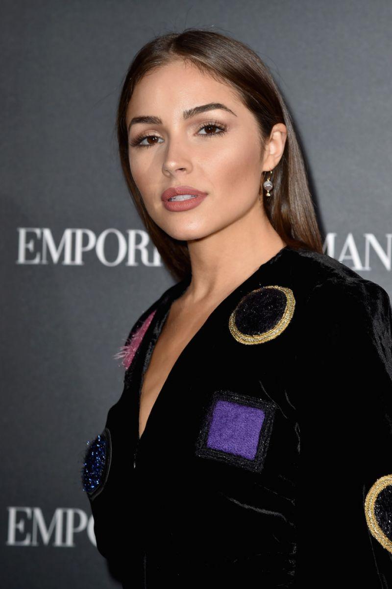 OLIVIA CULPO at Emporio Armani Fashion Show at Paris Fashion Week 10/03/2016