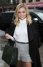 OLIVIA HOLT Out and About in New York 09/30/2016