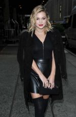 OLIVIA HOLT Out and About in New York 10/01/2016