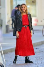 OLIVIA PALERMO on the Set of a Potoshoot in New York 10/18/2016