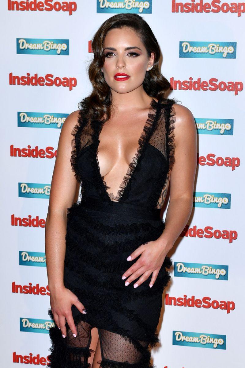 OLYMPIA VALANCE at Inside Soap Awards 2016 in London 10/03/2016