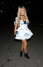 PARIS HILTON at Trick or Treats! 6th Annual Treats Magazine Halloween Party in Los Angeles 10/29/2016