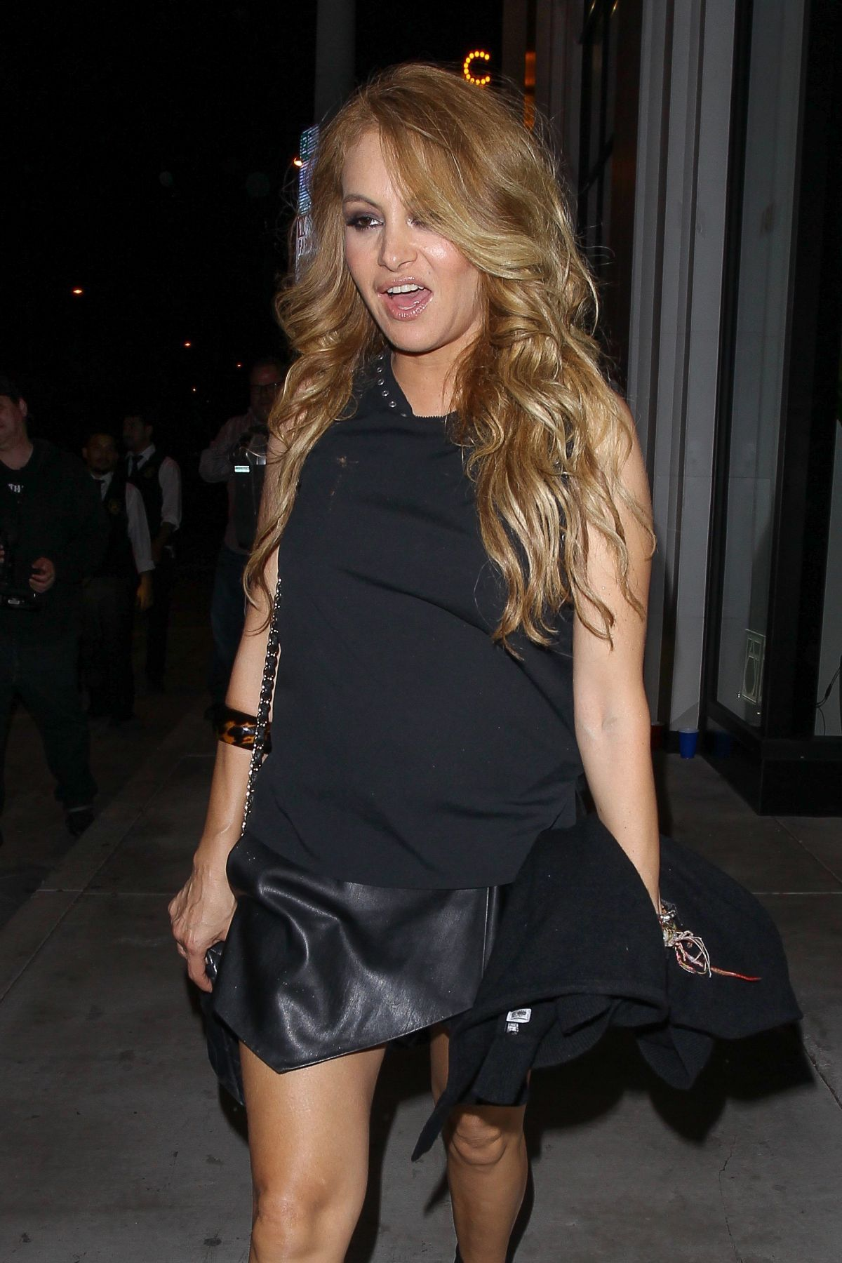 PAULINA RUBIO at Catch LA in West Hollywood 10/23/2016