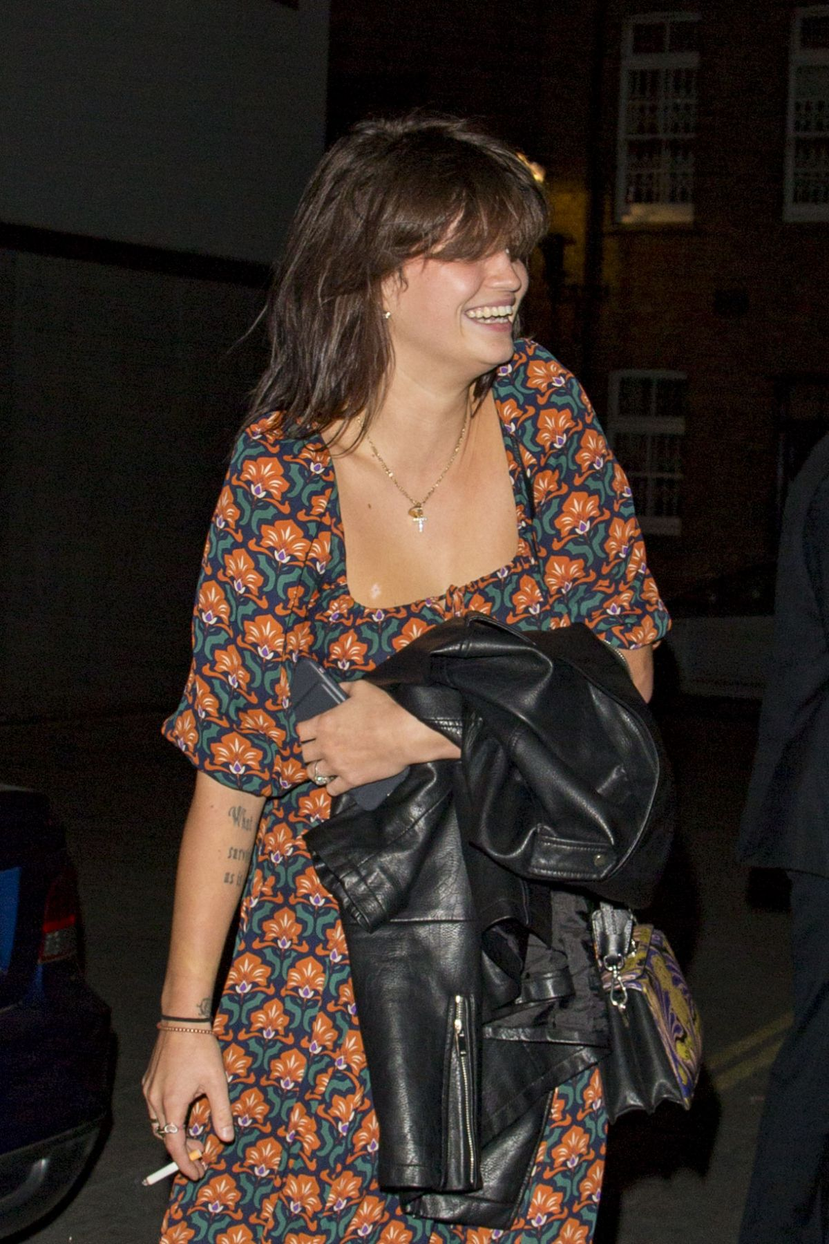 PIXIE GELDOF Night Out in London 10/05/2016