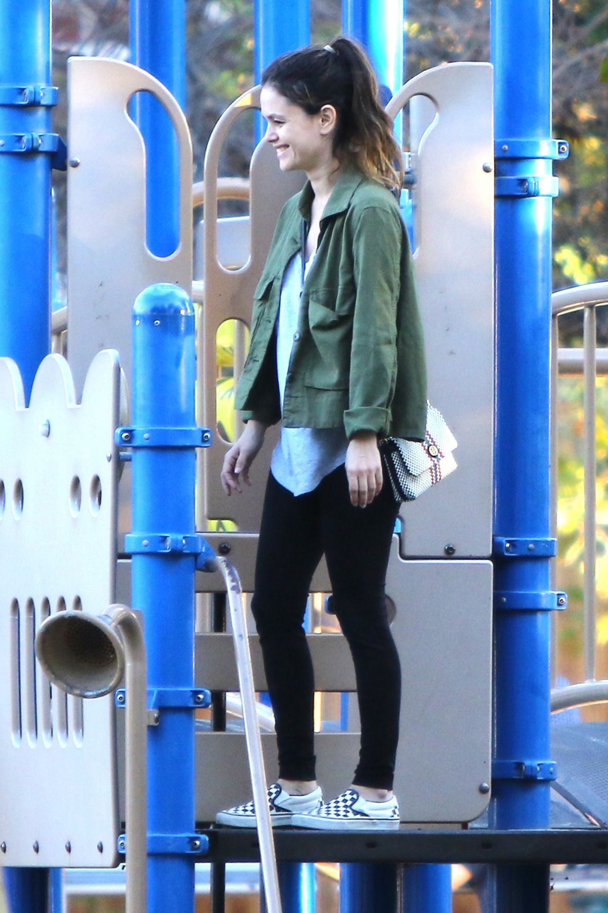 RACHEL BILSON Out and About in Studio City 10/25/2016