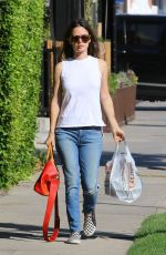 RACHEL BILSON Out Shopping in Studio City 09/29/2016
