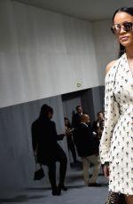 RIHANNA at Christian Dior Fashion Show at Paris Fashion Week 09/30/2016