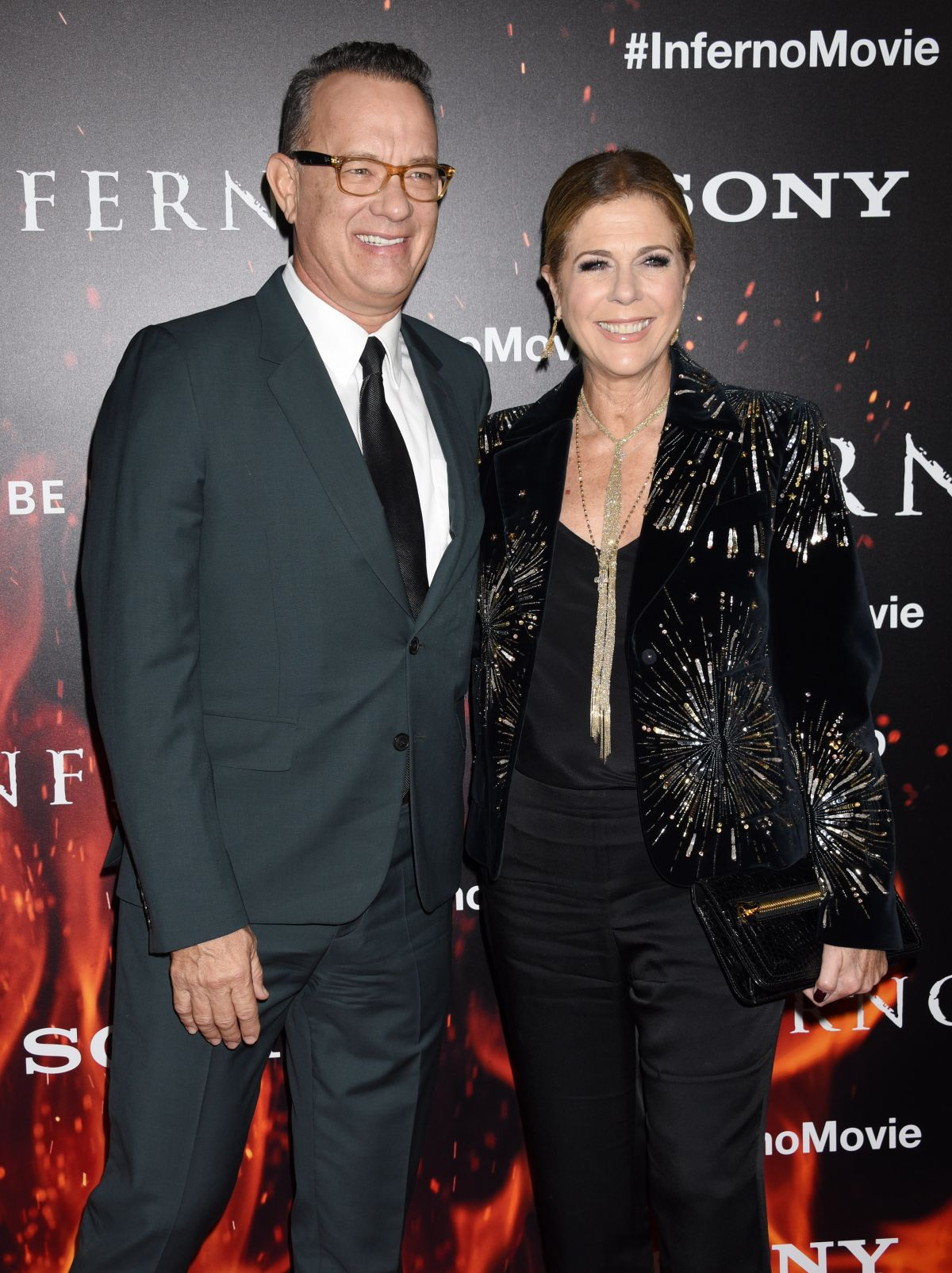 RITA WILSON at 'Inferno' Premiere in Los Angeles 10/25/2016