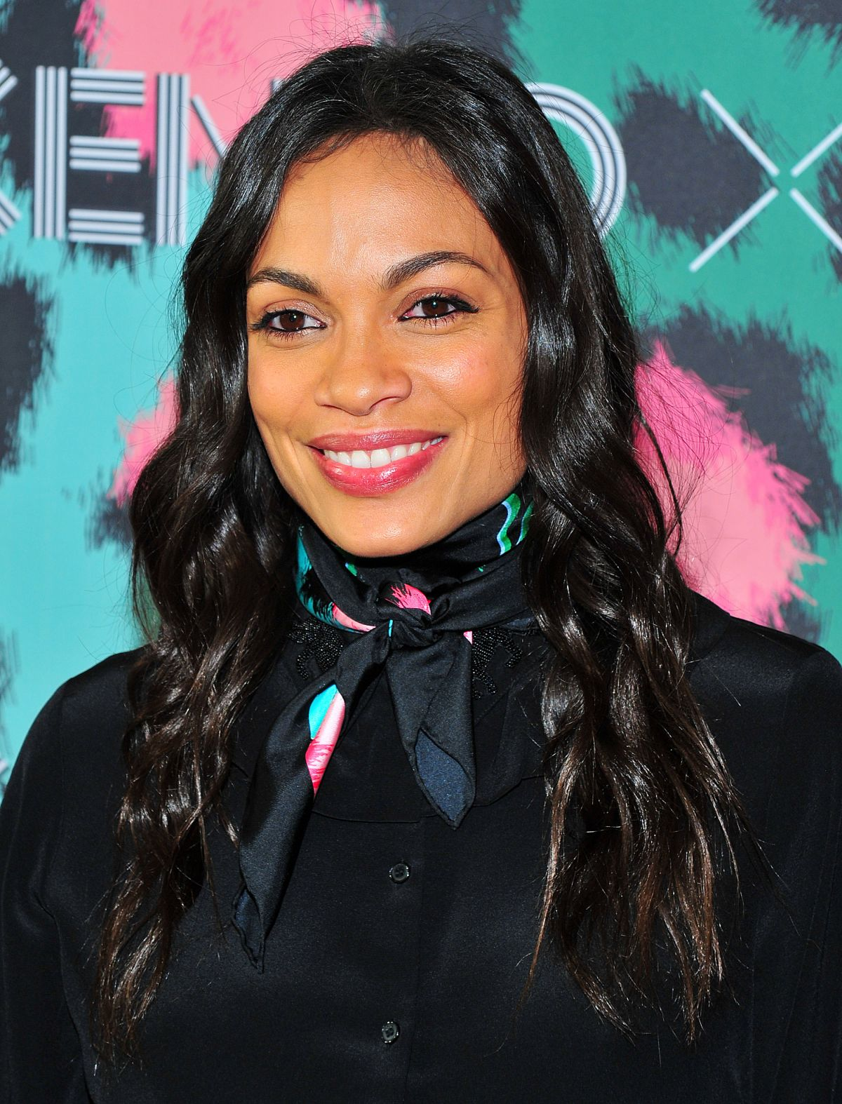 ROSARIO DAWSON at Kenzo x H&M Launch Party in New York 10 ... Rosario Dawson