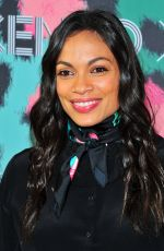 ROSARIO DAWSON at Kenzo x H&M Launch Party in New York 10/19/2016