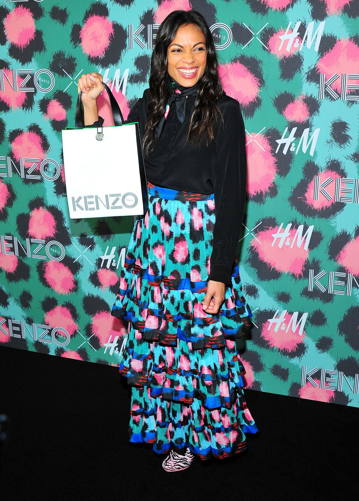 ROSARIO DAWSON at Kenzo x H&M Launch Party in New York 10/19/2016 ...