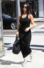 ROSELYN SANCHEZ Out Shopping in Beverly Hills 09/29/2016