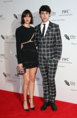 SAM ROLLINSON at IWC Schaffhausen Dinner in Honour of BFI Rosewood in London 10/04/2016